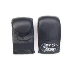 Bokszak bokshandschoenen zwart leer Joysport