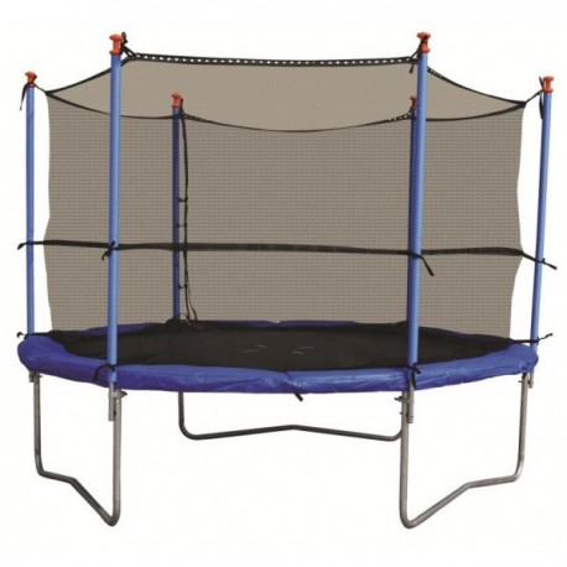 Stamm trampoline 244 rond met vangnet