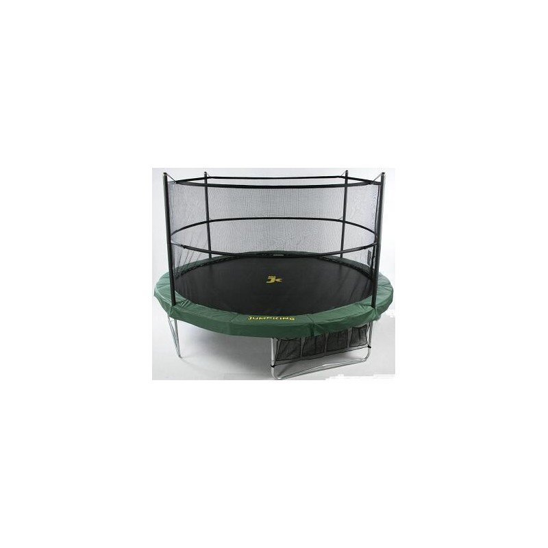 jumppod trampoline 305 cm met beschermnet jumpking. Black Bedroom Furniture Sets. Home Design Ideas