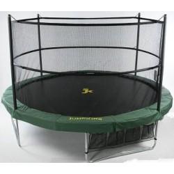 Jumppod trampoline 370 cm rond met beschermnet