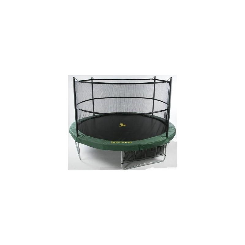 jumppod trampoline 430 cm met beschermnet jumpking. Black Bedroom Furniture Sets. Home Design Ideas