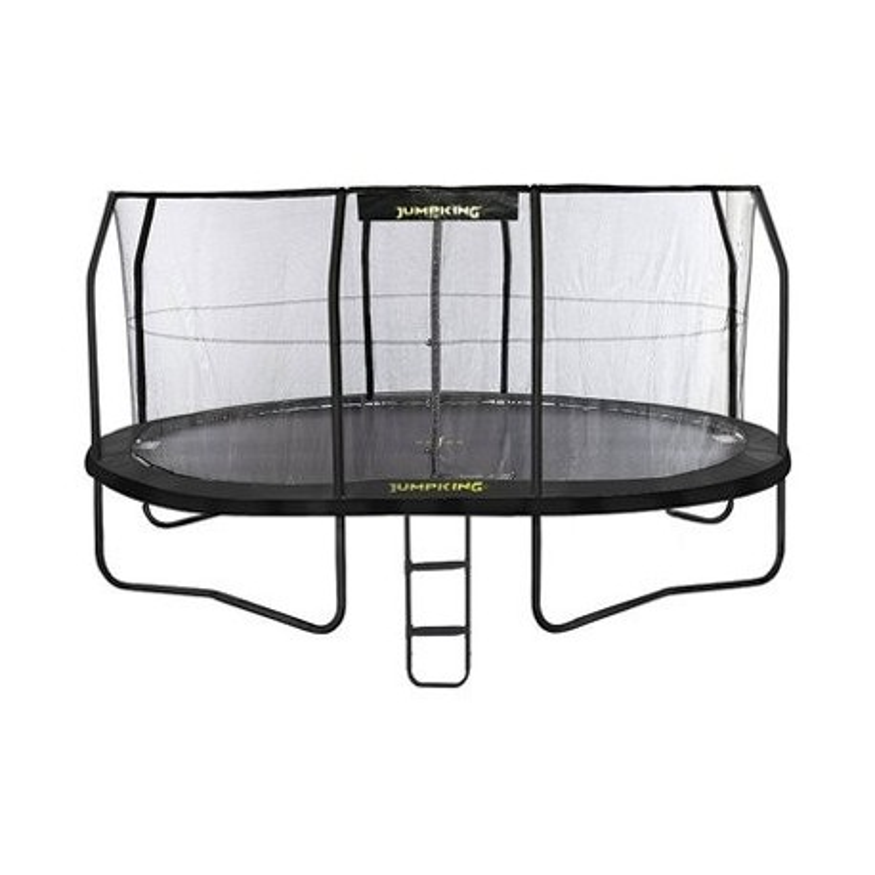 Jumppod trampoline Ovaal 520 x 426 cm met beschermnet